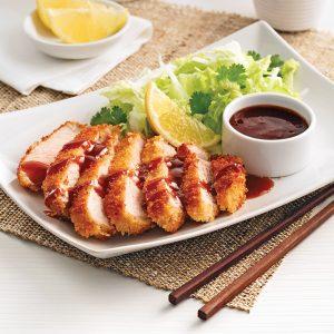 Porc tonkatsu à l'érable
