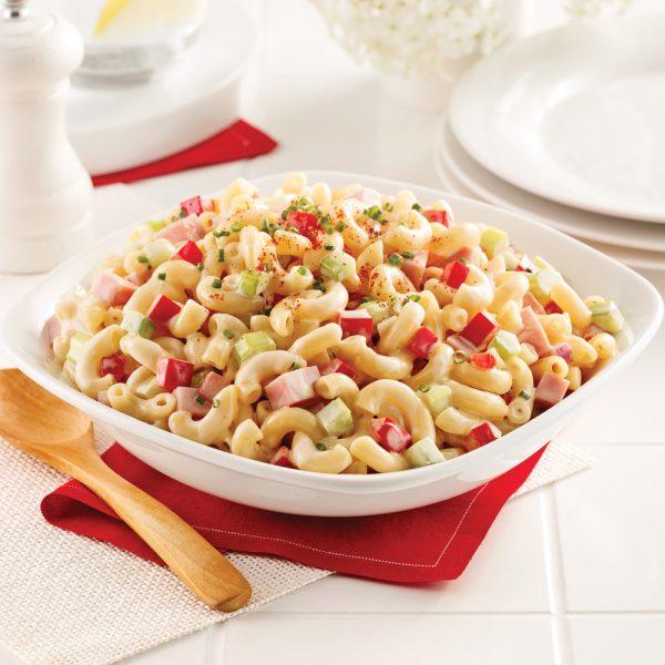 Salade de macaronis et jambon