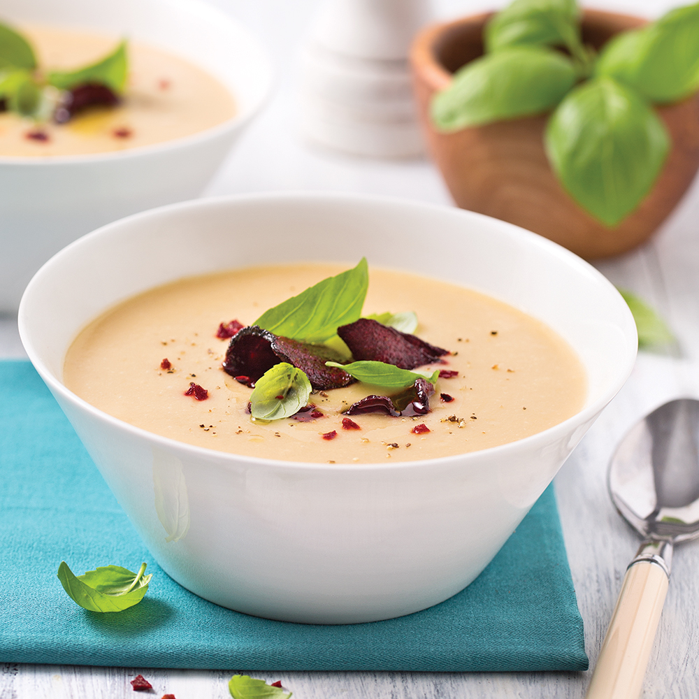 Soupe aux haricots blancs
