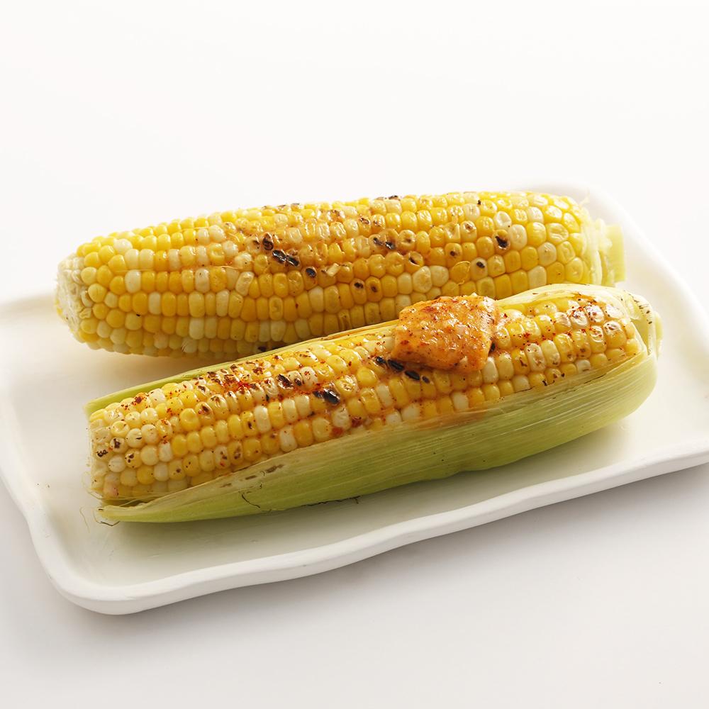 Maïs grillé et beurre au chipotle