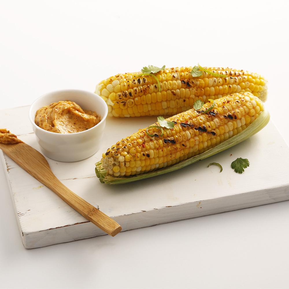Maïs grillé mexicain