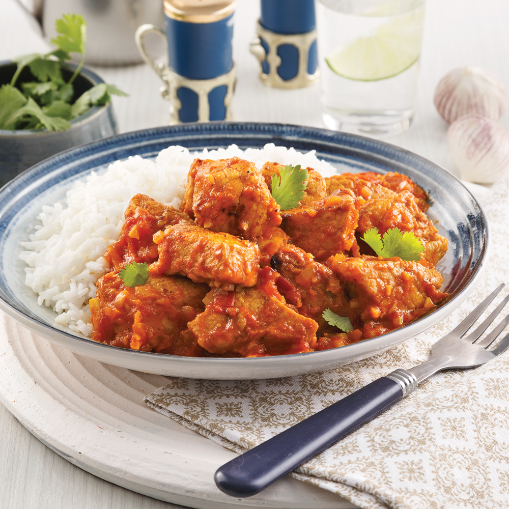 Porc vindaloo