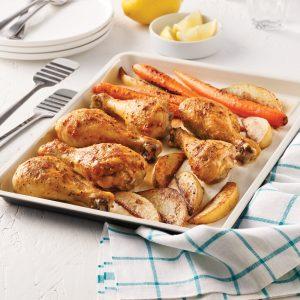 Pilons de poulet Dijon et citron