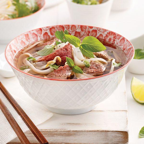 Soupe tonkinoise au boeuf (Pho bo)