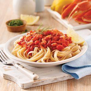 Sauce à spaghetti au crabe