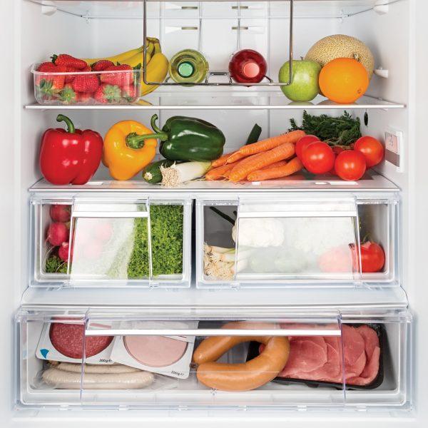 Où ranger les aliments dans le frigo?