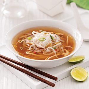 Soupe «pad thaï» aux nouilles