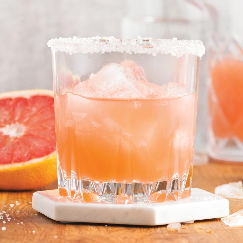 Gin au pamplemousse