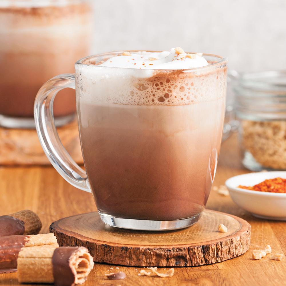 Chocolat chaud requinquant