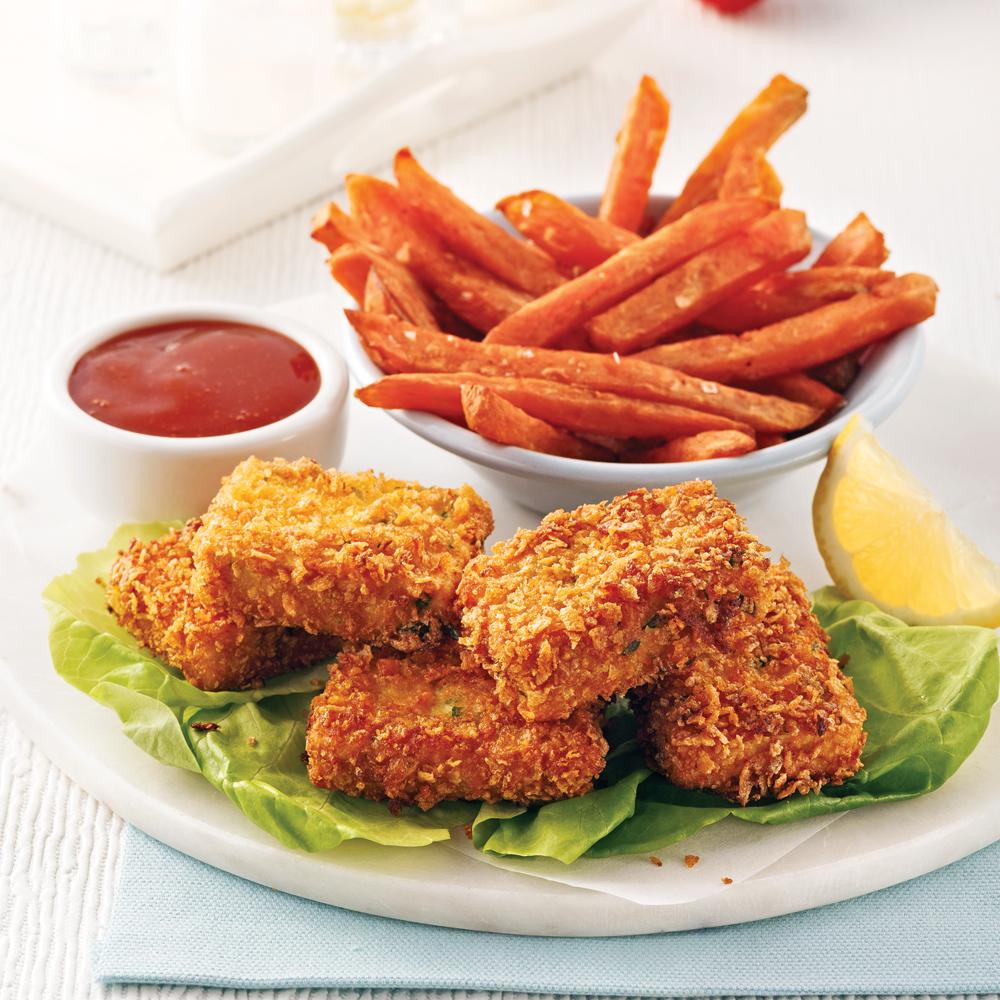 Croquettes de poulet (sans poulet!)
