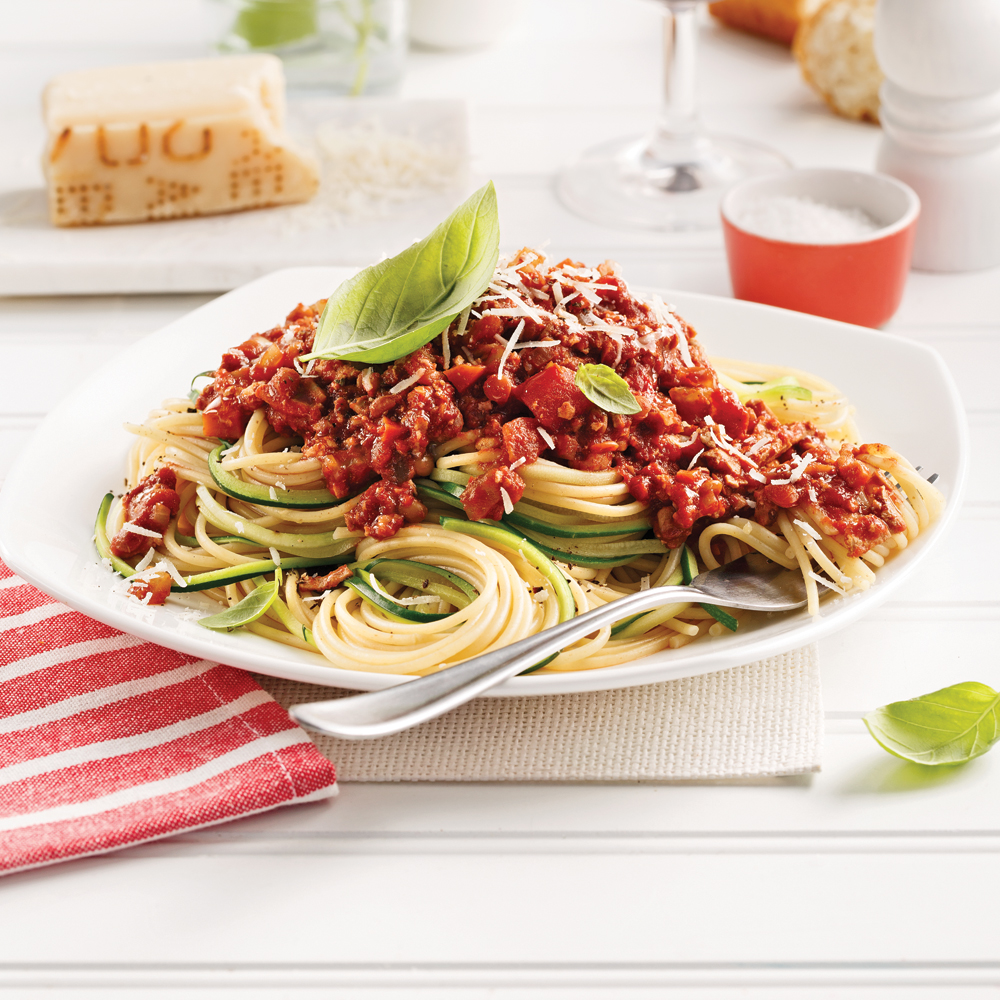 Sauce à spaghetti végé