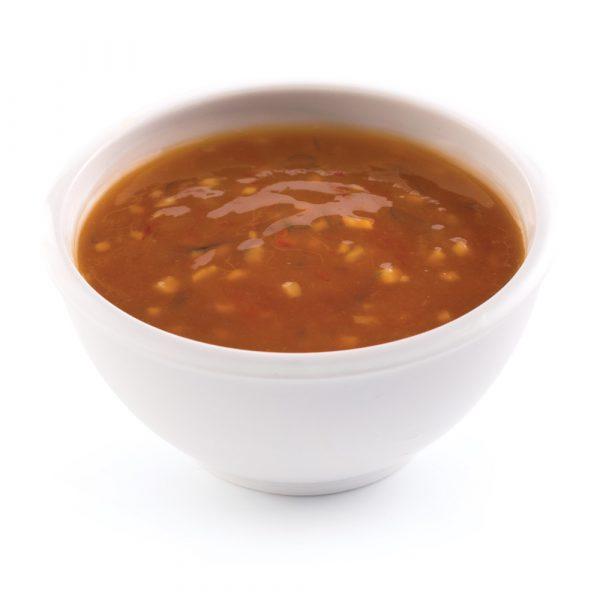 Sauce à fondue à l'orange et au gingembre