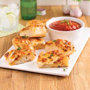 Petits pains au fromage et à l'ail