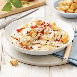 One pot pasta – Fettucines au poulet César