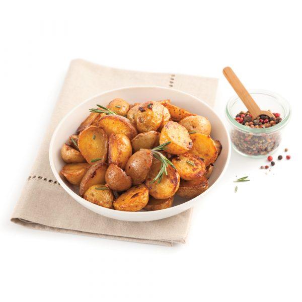 Pommes de terre grelots à l'érable