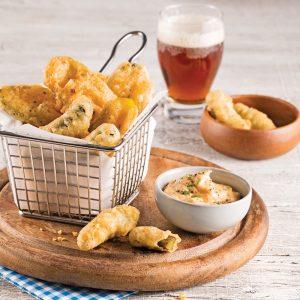 Cornichons frits