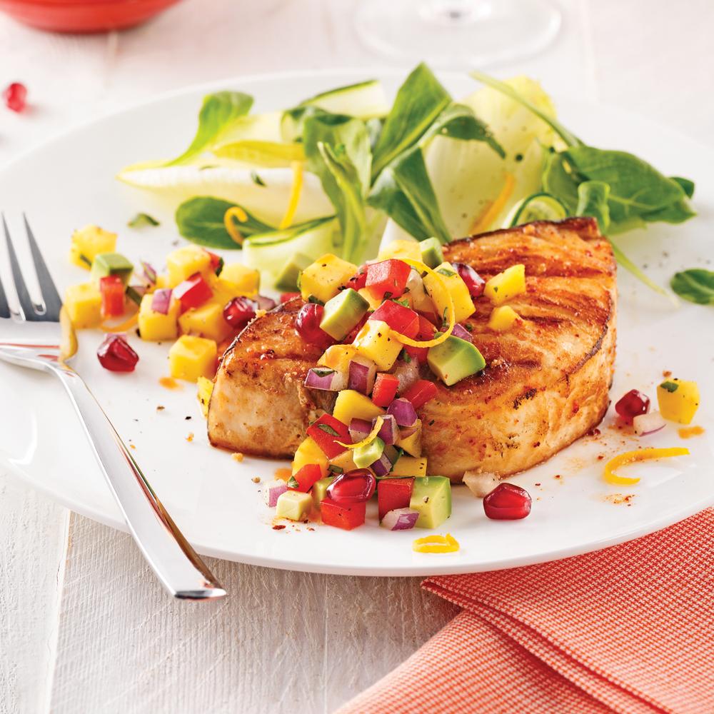 Filets de poisson à saveur d'érable