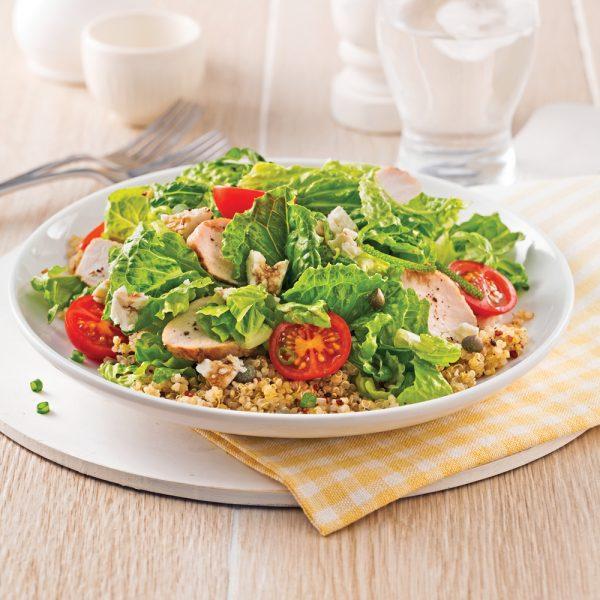 Salade de dindon et quinoa à la lime
