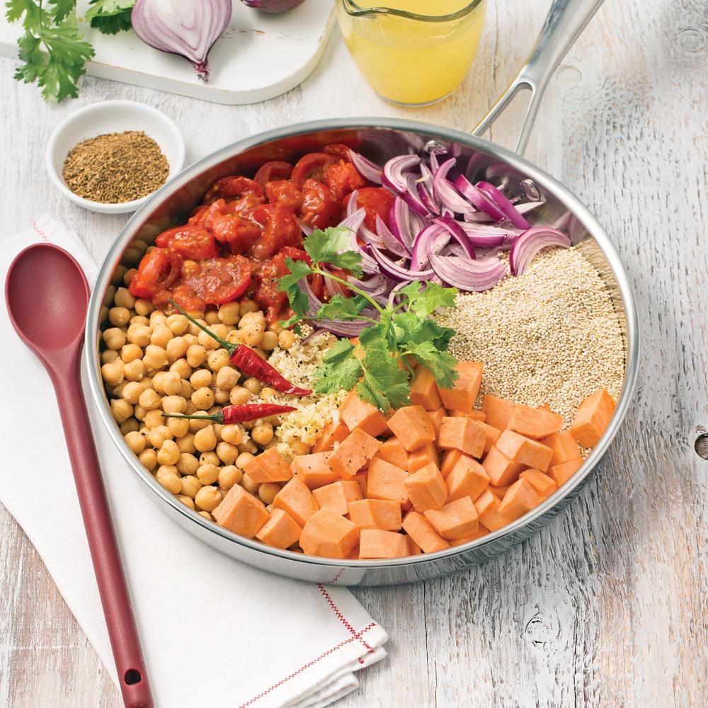 One pot quinoa tandoori