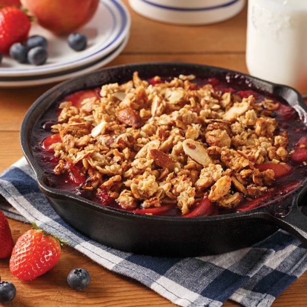 Crumble aux fruits