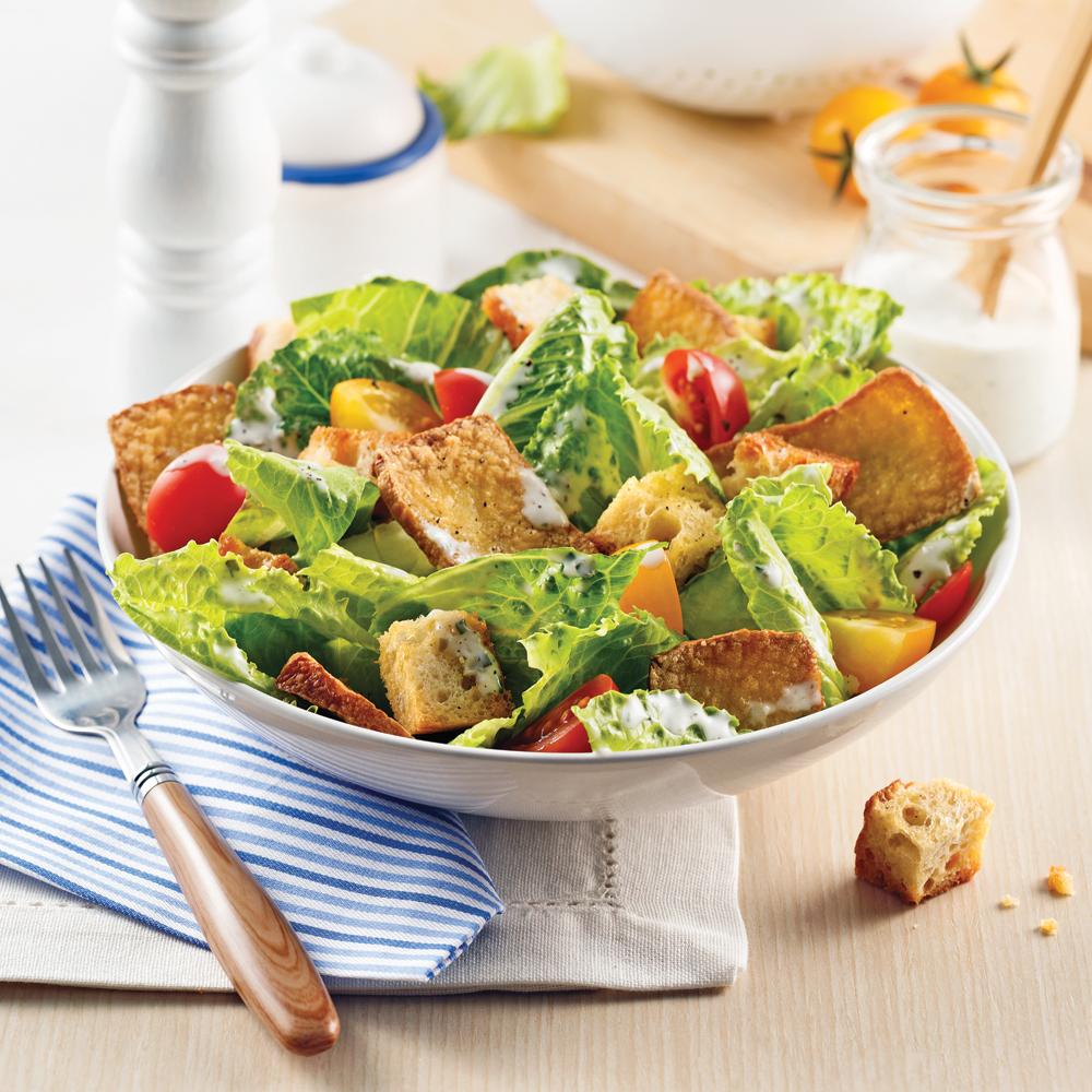 Salade César au tofu