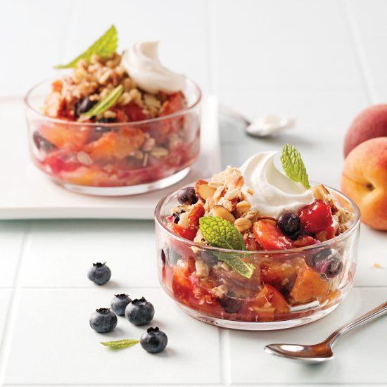 Croustade aux fruits à la mijoteuse