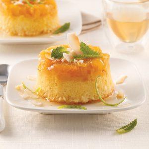 Petits gâteaux à l'ananas et noix de coco