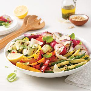 Légumes antipasti grillés