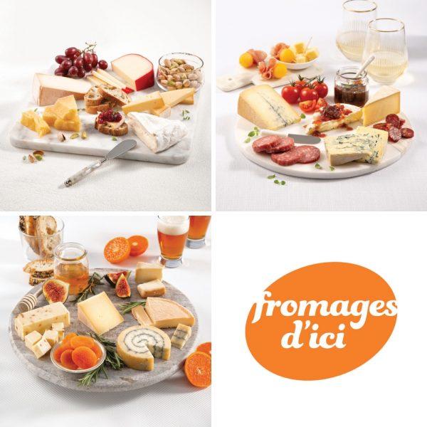 Célébrez avec nos meilleurs plateaux de fromages!