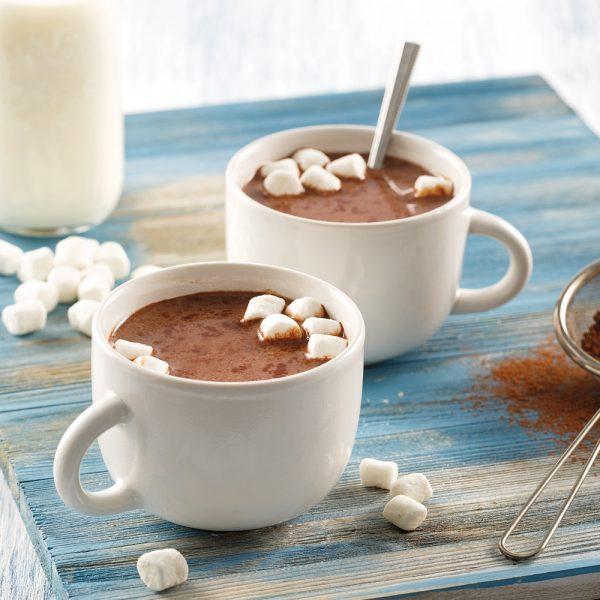 Chocolat chaud alcoolisé à la mijoteuse