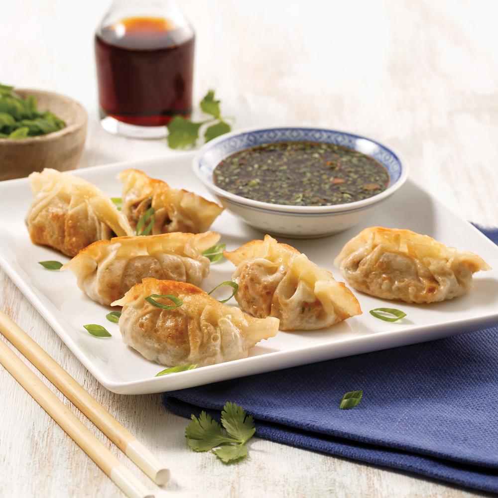 Dumplings au poulet