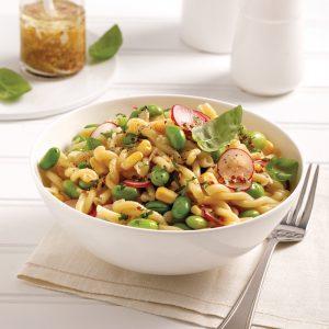 Salade de pâtes aux edamames