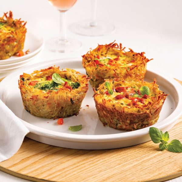 Mini-quiches rösti