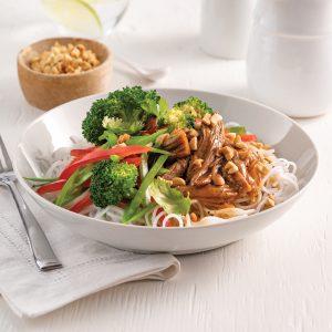 Rôti de palette de veau de grain à l'asiatique