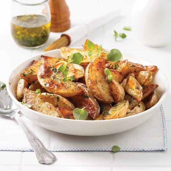 Pommes de terre grecques