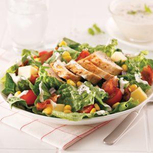 Salade de poulet grillé à la ranch