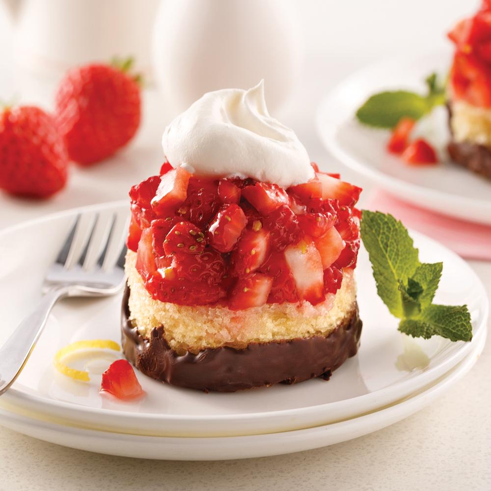 Mini-tartare de fraises