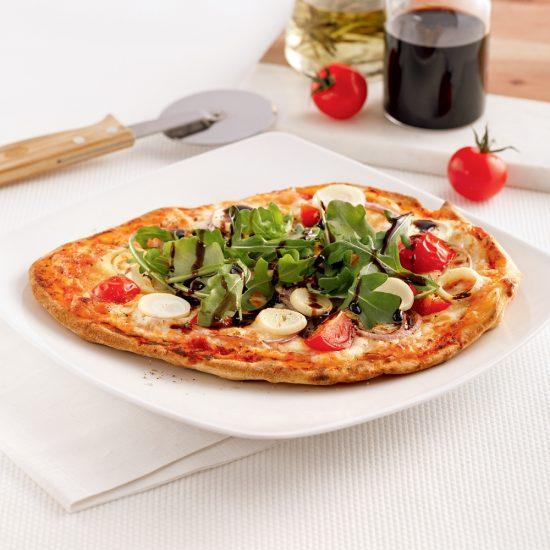Pizza végé aux coeurs de palmier