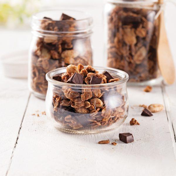 Granolas double chocolat
