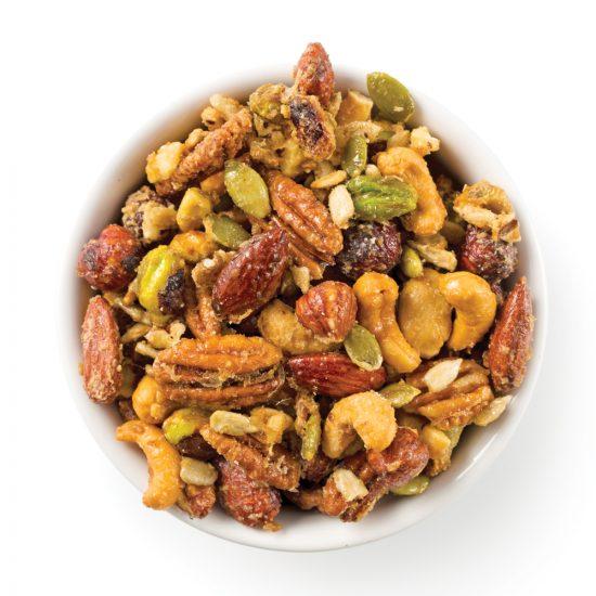 Mélange de noix et graines