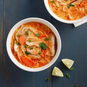 Soupe thaïe végane