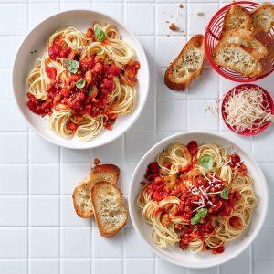 Sauce à spaghetti végane à la mijoteuse