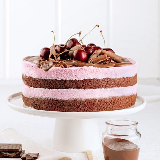 Gâteau Forêt-Noire à la crème glacée