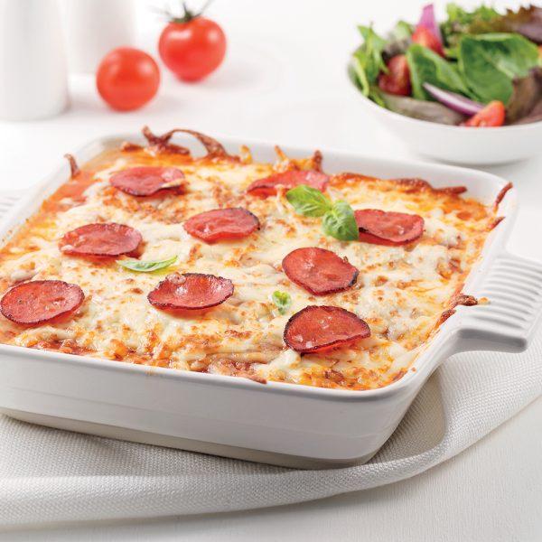Casserole pizza