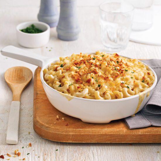 Mac'n cheese crémeux au chou-fleur