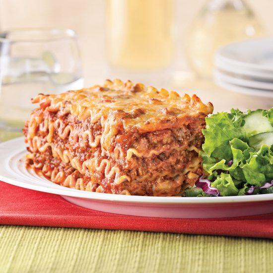Lasagne sauce à la viande