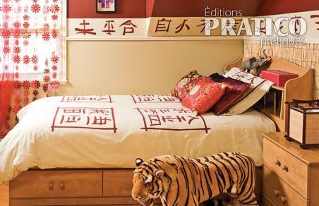 Chambre chinoise - Je Décore