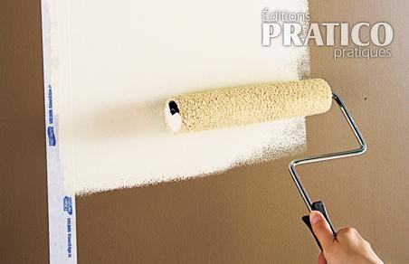 Appliquer un apprêt, avant la peinture