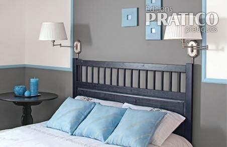 Simple chambre en gris - Je Décore