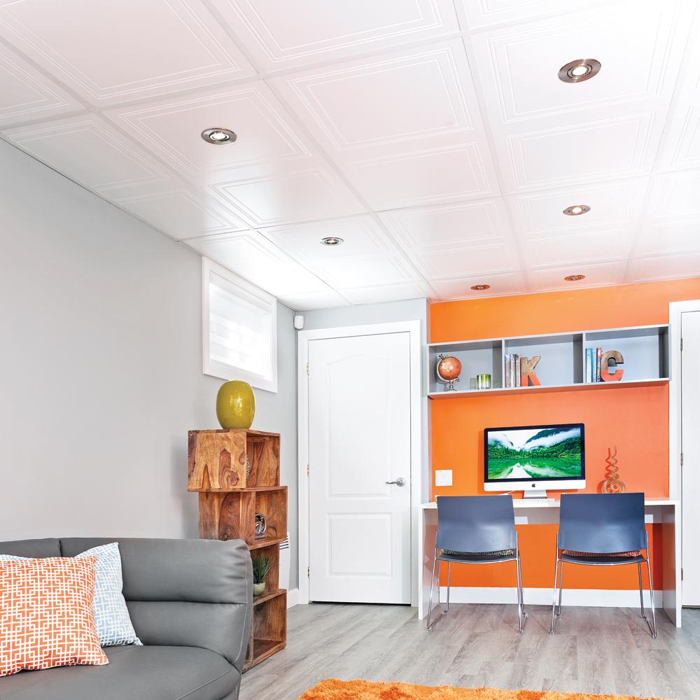Suspension Hauteur Sous Plafond comment installer un plafond suspendu - je décore